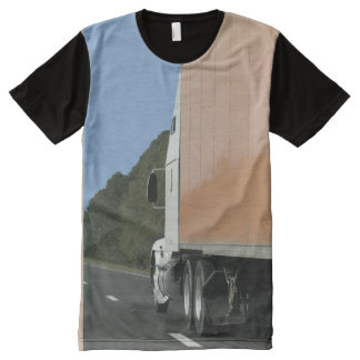 Truckers Shirt All-Over Print T-shirt