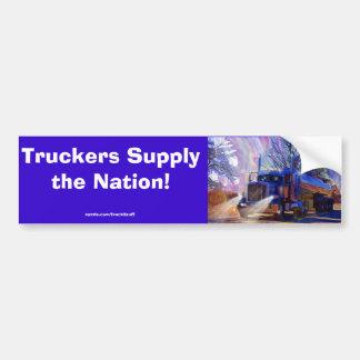 Truckers Tanker Lorry Heavy Transport Gift Bumper Sticker