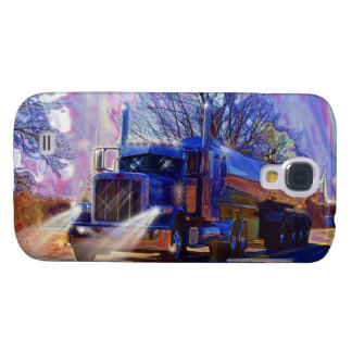 Truckers Tanker Lorry Heavy Transport Gift Galaxy S4 Cases