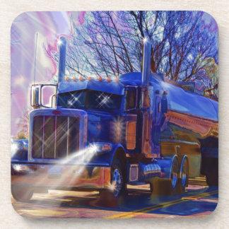 Truckers Tanker Lorry Heavy Transport Gift Coaster