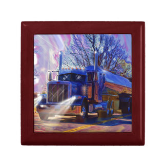 Truckers Tanker Lorry Heavy Transport Gift Gift Box