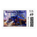 Truckers Tanker Lorry Heavy Transport Gift Postage