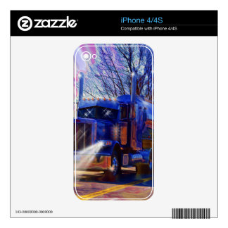 Truckers Tanker Lorry Heavy Transport Gift Skin For iPhone 4
