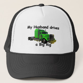 Truckers - Teamsters - Husband Drives Trucker Hat
