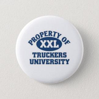 Truckers University Pinback Button