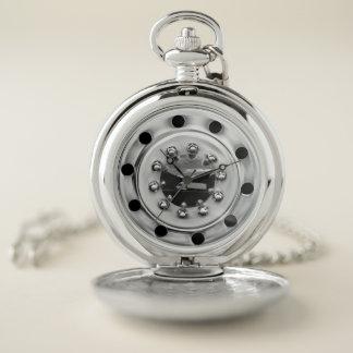 Trucker's Wheel Pocket Watch