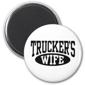 Trucker's Wife Magnet