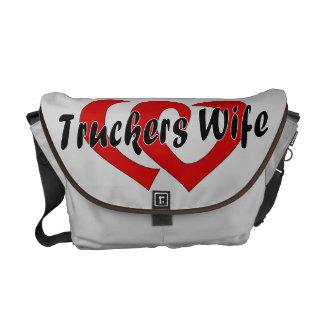 Trucker's Wife Messenger Bag