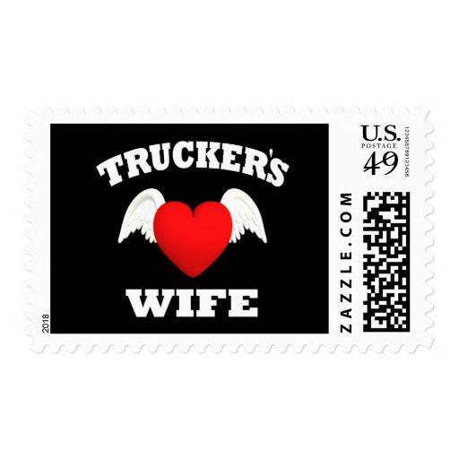 Trucker's Wife Stamp