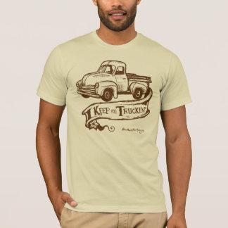truckin-brownT T-Shirt