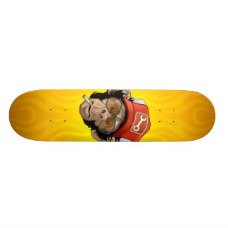 Truckin Chimp Skateboard