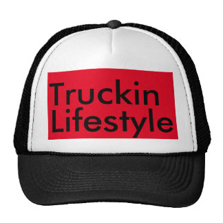 Truckin lifestyle trucker hat