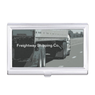 Trucking Business Card Holder