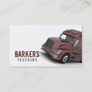 Trucking business cards zazzle trucking business card colourmoves