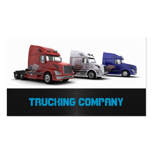 Best business for retirees trucking business card ideas create professional marketing materials for a transportation business with graphic design templates the do it yourself marketing templates help users solutioingenieria Image collections
