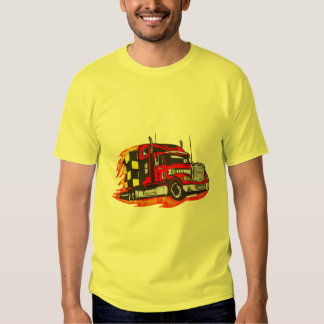 Trucking Down The Road T Shirt