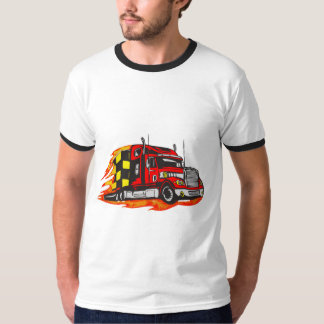 Trucking Down The Road Tee Shirt