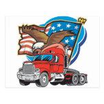 Trucking Eagle Postcard