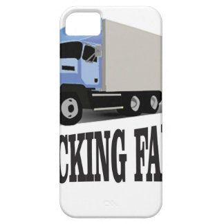 trucking family blue iPhone SE/5/5s case