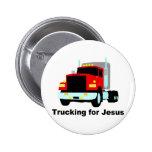 Trucking for Jesus Pin