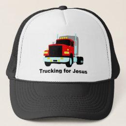 Trucking for Jesus Trucker Hat