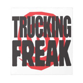 Trucking Freak Memo Notepads