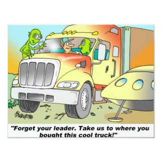TRUCKING HUMOR GIFTS CARD