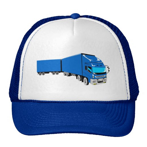 trucking lorry truck container van cartage hat