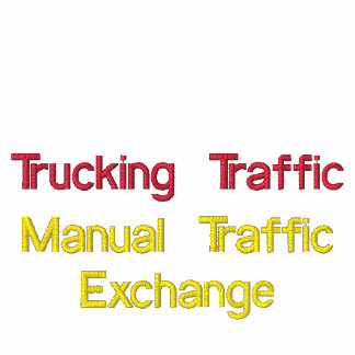Trucking Traffic Embroidered Polo Shirt