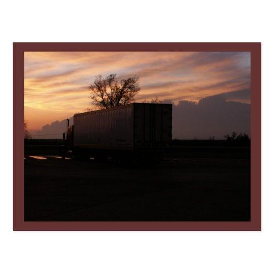 Trucking USA  Postcard