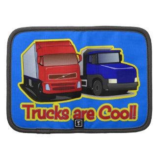 Trucks are Cool Folio Planner