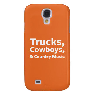 Trucks, Cowboys and Country Music Galaxy S4 Cover