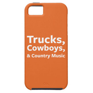Trucks, Cowboys and Country Music iPhone SE/5/5s Case