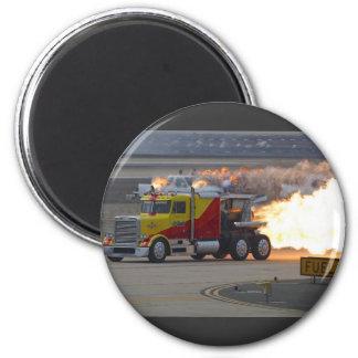 Trucks Engines Fridge Magnet