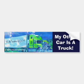 Trucks for Truckers & Truck-lovers Bumper Sticker
