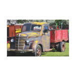 Trucks Of Yesteryear Canvas Prints