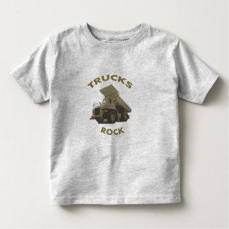 trucks rock toddler t-shirt