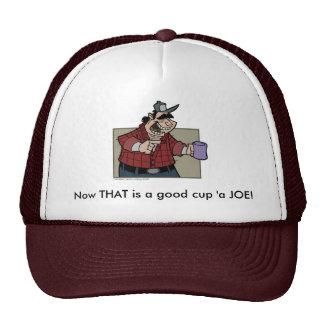 Truckstop Joe Cap Trucker Hat