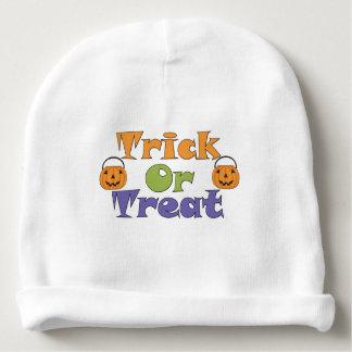 Truco de Halloween o calabazas del truco Gorrito Para Bebe