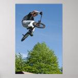 Truco de la bici de BMX Poster