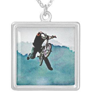 Truco de la bicicleta del estilo libre BMX Colgante Cuadrado