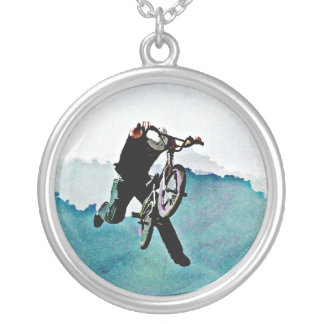 Truco de la bicicleta del estilo libre BMX Colgante Redondo