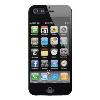Truco de la pantalla usted cubierta del iphone 5 iPhone 5 funda