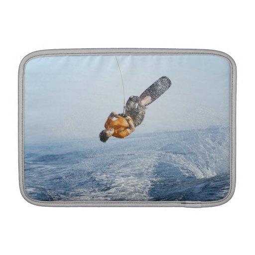 Truco de Wakeboarding Fundas MacBook