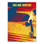 Truco del monopatín del estilo libre de los invitación 12,7 x 17,8 cm
