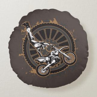 Truco del motocrós cojín redondo