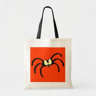 Truco divertido o Trea de Halloween de la araña Bolsa Tela Barata