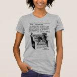 Truco mágico del kitsch retro del vintage el chica camiseta