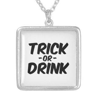 Truco o bebida Halloween divertido Joyeria