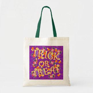 Truco o invitación con el caramelo de Halloween Bolsa